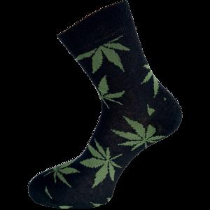 Konoplja nogavice z vzorcem -ženska